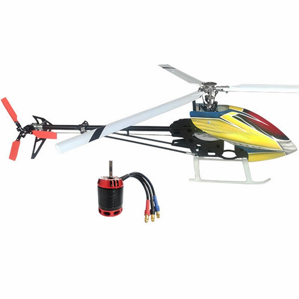 JDHMBD 450 PRO 6CH 3D Three Blade Rotor TBR RC Helicopter KIT With Brushless Main Motor