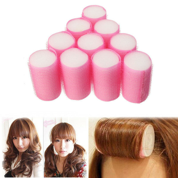 10Pcs Soft Foam Curler Curler Accessories Female Sleeping Hair Styling