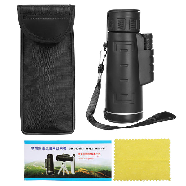 Bakeey 35X50 Monocular Night Vision Long Distance Outdoor Hiking Portable Telescope for Smartphone