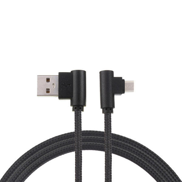 Bakeey 90 Degree Micro USB Fast Charging Cable 1m For Xiaomi Redmi Note 4 4X Samsung S7 S6 Edge