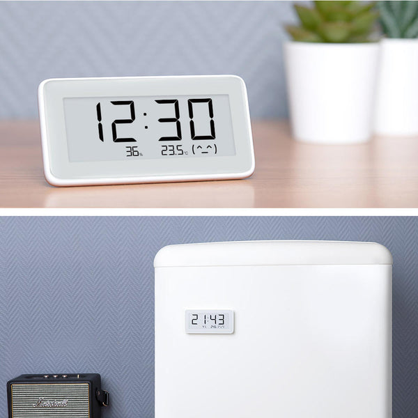 Xiaomi Mijia BT4.0 Bluetooth Wireless Smart Electric Digital Desktop Clock Indoor Hygrometer Thermometer