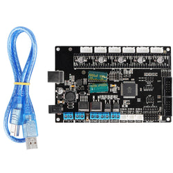 TriGorilla Mainboard Motherboard With USB Cable For Kossel Prusa i3 Corexy 3D Printer