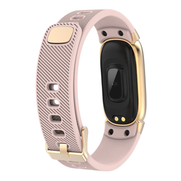 Bakeey QW16 Color Screen Real-time Blood Pressure Oxygen Message Display Sport Mode Smart Watch Band