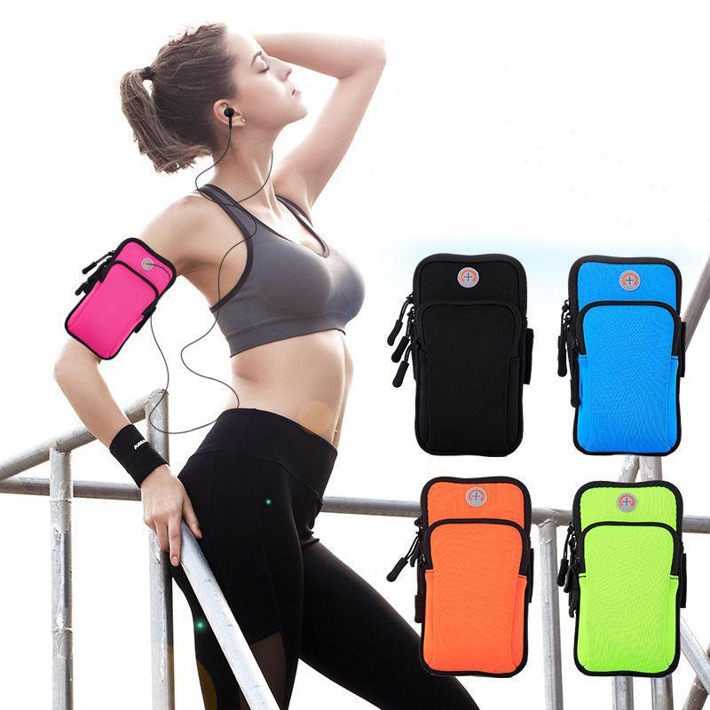 Rainproof Sport Arm Bag Phone Bag For 4.0-6.5 Inch Mobile Phone iPhone XS Max Samsung Galaxy S10+