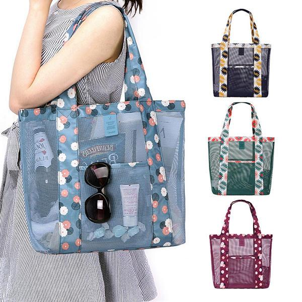Nylon Casual Light Weight Handbag Storage Bag Sport Picnic Bag Shoulderbags - EY Shopping
