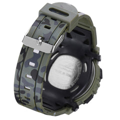 SYNOKE 9035 Kids LED Colorful Luminous Camouflage Sport Digital Watch