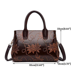 Double-layer Tote Handbag Crossbody Bag For Women - EY Shopping