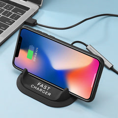 Bakeey Wireless Car Charger Base 5W/7.5W/10W Wireless Car Holder Charging Bracket For iPhone XS 11Pro Asus PadFone S