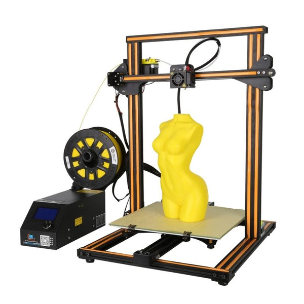 Creality 3D CR-10S DIY 3D Printer Kit 300*300*400mm Printing Size With Z-axis Dual T Screw Rod Motor Filament Detector 1.75mm 0.4mm Nozzle