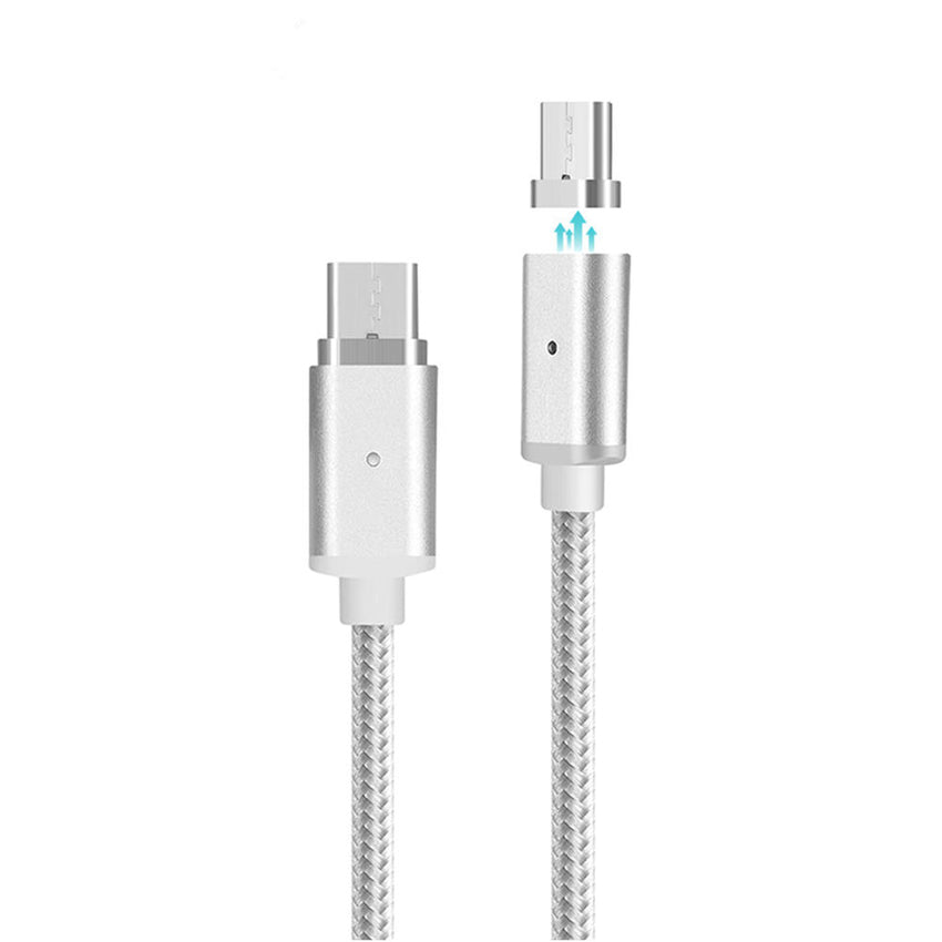 Bakeey USB Type-C 1M Magnetic Nylon Braided Data Charging Cable for Nexus Xiaomi Macbook Letv MEIZU