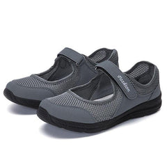 Casual Mesh Light Soft Sole Breathable Outdoor Sport Flats - EY Shopping