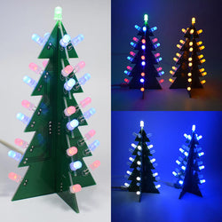 Geekcreit DIY Star Effect 3D LED Decorative Christmas Tree Kit
