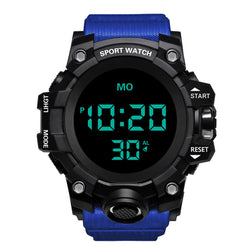 HONHX 55F-783 Men Luminous Display Stopwatch Alarm Clock Fashion Digital Watch