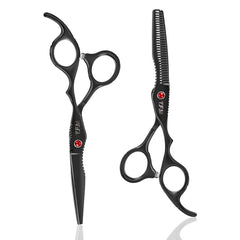 6Cr 6 inch Stainless Steel Salon Hair Scissors Thinning Cutting Barber Shears Hairdressing Hair Styling Tools
