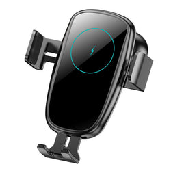 Bakeey 15W Car Wireless Charger Infrared Induction Clamping Air Vent Car Phone Holder For iPhone XS 11Pro Xiaomi Mi10 Redmi Note 9S POCO X2