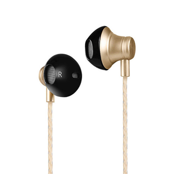 HOCO M18 Noise Cancelling Heavy Bass Wired 3.5mm In-ear Earphone Earbuds with Mic