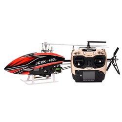 JCZK 450L V1 DFC 6CH Flybarless One-Key Return Fixed Point Hover Smart RC Helicopter RTF With 380 Intelligent Fly System