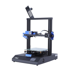 Anet ET4X 3D Printer Kit 220X220X250mm Print Size Support Resume Printing Function with Upgraded Over-Current Protection Mainboard/2.8 Inch LCD Color Touch Screen