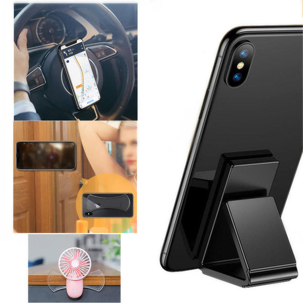 Cafele 2PCS Strong Adhesive Sticky Gel Pad Wall Mount Desktop Stand Car Holder for Mobile Phone