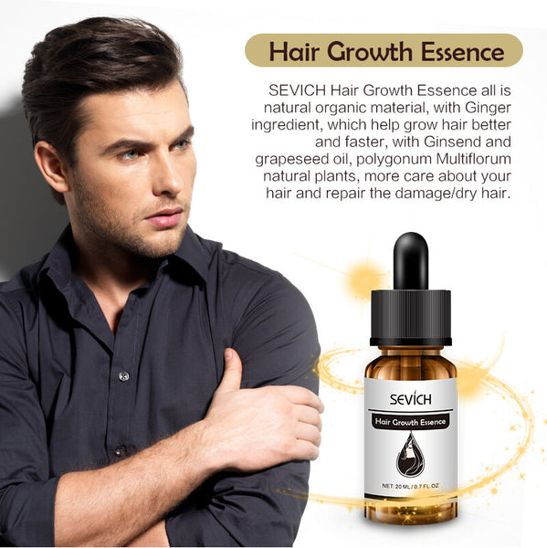 Sevich Hair Growth Essential Oils Original Authentic 100% Anti Hair Loss Products Care Hair Essence For Fast Hair Growth