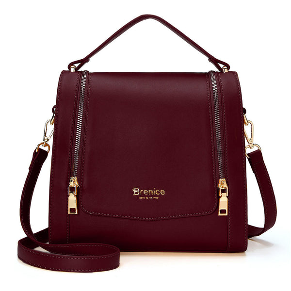 Brenice DREAME Women Design Multifunction Crossbody Bag Handbag Shoulder Bag