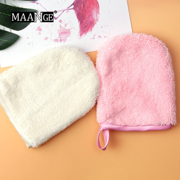 Lazy Towel Gloves Water Make-up Remover Towel Wash Face Splash with Water