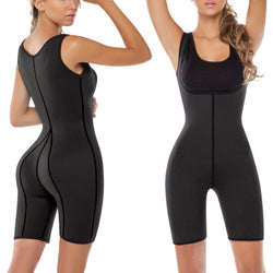 S/M/L/XL/2XL Women Weight-loss Corset Shapewear Full Body Shaper Neoprene Sauna Suit for Slimming Burning Fat