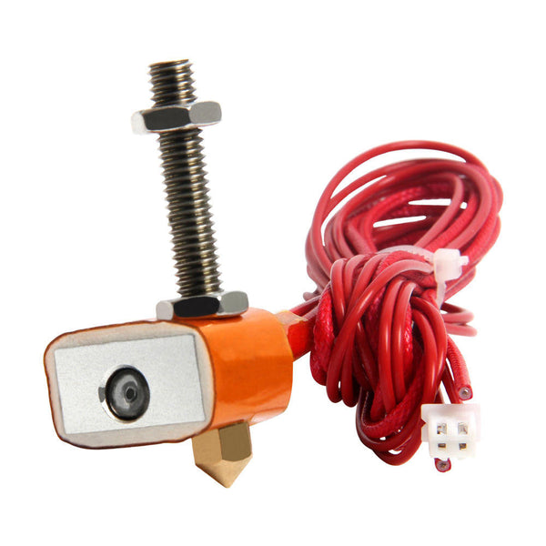 Geeetech 12V 40W Hotend Kit 1.75mm 0.3mm Copper Nozzle Extruder For 3D Printer