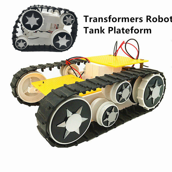 Small Hammer Transformable RC Robot Tank Car Chassis Base