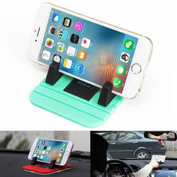 Car Dashboard Non-slip Mat Rubber Car Mount Car Phone Holder Pad  For Smart Phone