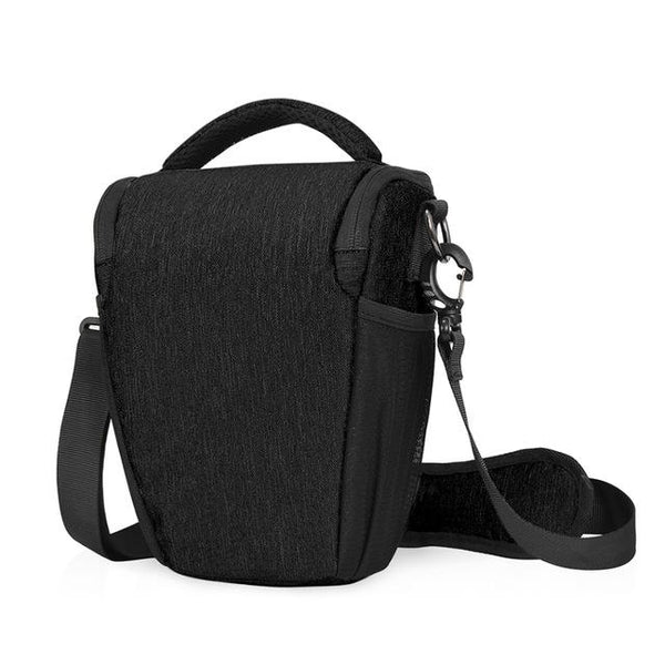 Caden D1 Shoulder Sling Bag Pouch Water-resistant Carry Bag with Adjustable Strap for DSLR SLR Camera Lens