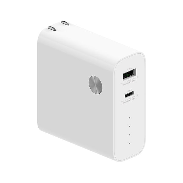 Xiaomi 2 In 1 50W USB PD Charger PD3.0 Power Delivery Wall Charger + 6700mAh Power Bank External Battery For iPhone 11 SE 2020 For iPad Pro 2020 MacBook Air 2020 Huawei Xiaomi