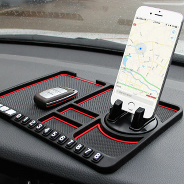 Bakeey Multifunctional Car Anti-Slip Mat Auto Car Phone Holders Silicone For Dashboard Car Pad Mat Instrument Table