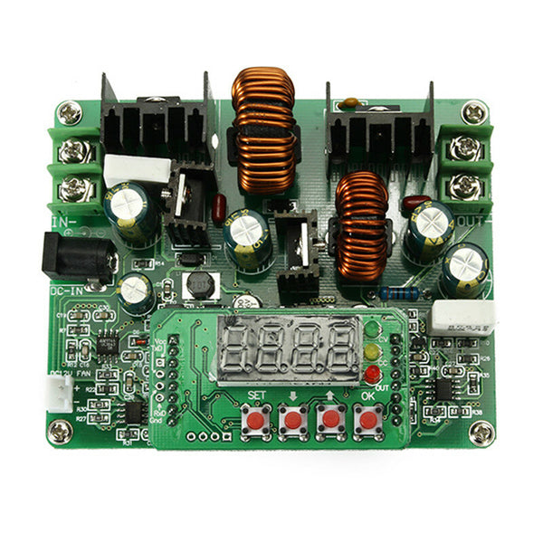 D3806 NC DC 6A 10V-40V to 38V Constant Current Power Supply Step Down Module Voltage Ammeter