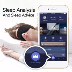 Sleepace Comfortable Washable Eye Mask Built-in 3.5mm HIFI Stereo Noise Cancelling Earphone Smart App Control Sleeping Headphone Eye Patch