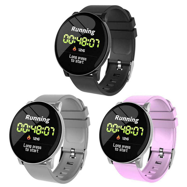 W8 Sport Bluetooth Smart Watch Heart Rate Oxygen Blood Pressure Fitness Tracker Watch
