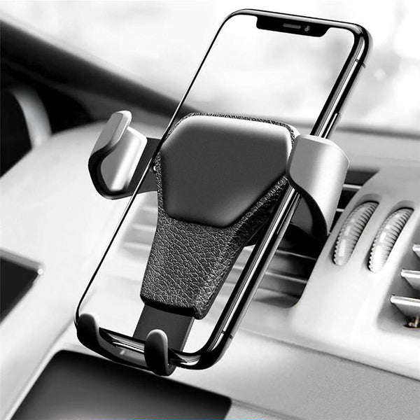 Gravity Linkage Automatical Lock 360 Rotation Car Mount Air Vent Holder Stand for Xiaomi Mobile Phone 4-6