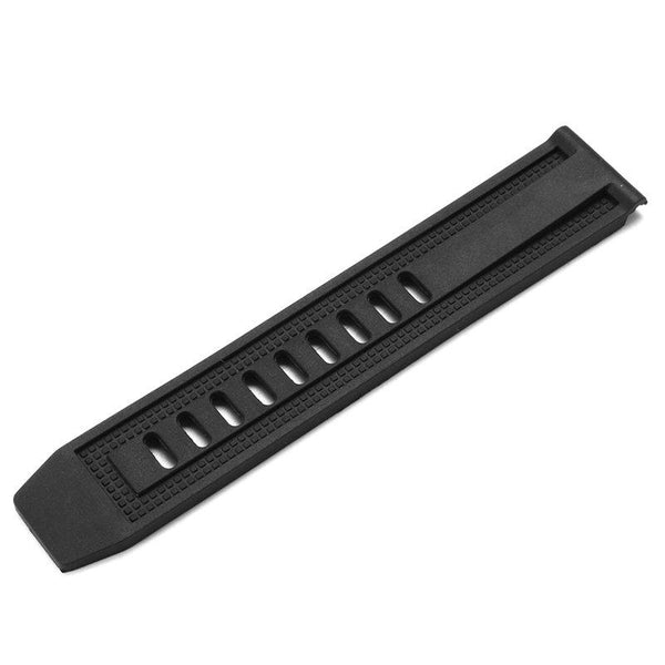 Replacement Rubber 23mm Wristband Rubber Watch Strap for Luminox Black Ops Series 8800 8802