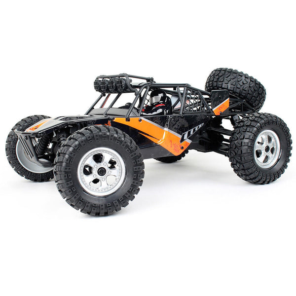 HBX 12815 1/12 2.4G 4WD 30km/h Racing Brushed RC Car Off-Road Desert Truck With LED Light Toys