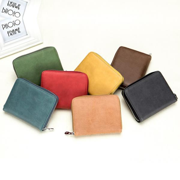Genuine Leather RFID 24 Card Slot Large Capacity Card Holder Passport Case For Men Women