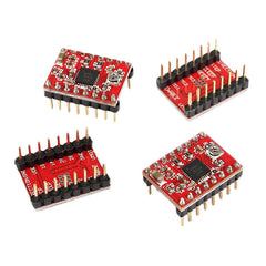 3X Geekcreit CNC Shield + UNO R3 Board + 4x A4988 Driver Kit With Heat Sink For  3D Printer