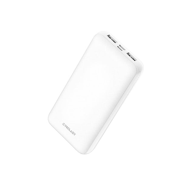 Teclast 20000mAh Dual USB Output Fast Charging Power Bank For iPhone X XS Xiaomi Mi9 S10 + Note 10