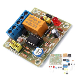 EQKIT DIY Light Operated Switch Kit Light Control Switch Module Board With Photosensitive DC 5-6V