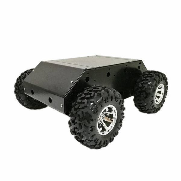 DOTI DIY 4WD Smart RC Robot Car With 130mm Wheels 12V 300RPM 37mm Motor