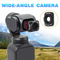 Magnetic Wide-Angle Camera Lens For DJI OSMO POCKET Handheld Gimbal Accessory