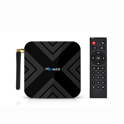 H6 MAX Allwinner H6 4GB RAM 32GB ROM 2.4G WIFI Android 9.0 4K 6K TV Box