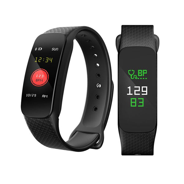 XANES L6 0.96'' Color Screen IP67 Waterproof Smart Bracelet Heart Rate Monitor Smart Watch mi band