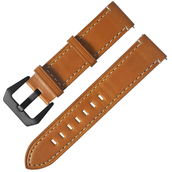 20mm Watch Band Genuine Leather Watchband Replacement for HUAMI AMAZFIT
