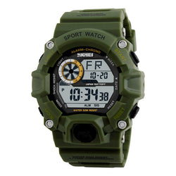 SKMEI 1019 Digital Watch Fashion Multi-funcional Sports Chronograph 50M Waterproof Men Wrist Watch