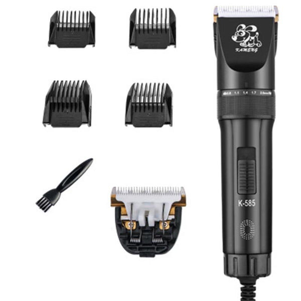 12V Pet Barber Shave Razor 2 Gear Adjustable Professional Pet Cat Dog Hair Grooming Trimmer Clipper Kit
